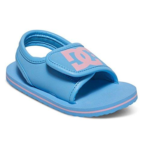 DC Shoes Bolsa - Sandals - Sandalen - Kleinkinder - EU 27 - Blau (Baby Baby-mädchen Shoes Dc)