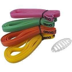 arena Racing Goggles Silicone Strap Kit M Recambio de Gomas para Gafas de Natación, Unisex Adulto, Multicolor, Única