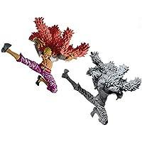 One Piece SCultures BIG modeling king summit decisive battle â…¥ vol.1 (Don Quixote de Flamingo) Full set of 2 Banpresto Prize
