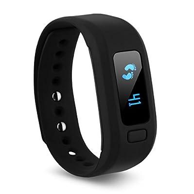 Specifiche tecniche: il tuo smart bracciale activity Tracker registra la quantità di movimenti che fai tutto il giorno. La vostra attività inseguitore fitness orologio anche rileva la distanza di coprire con l' allenamento. Il fitness quindi calcola ...