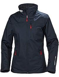 Helly Hansen W Crew Midlayer Jacket Chaqueta Impermeable, Mujer, Navy, 4XL
