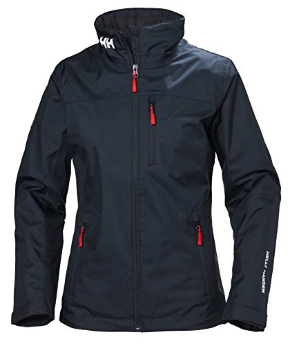 Helly Hansen W Crew Midlayer Jacket, Tuta Sportiva Donna, Blu (Azul Navy 598), Medium