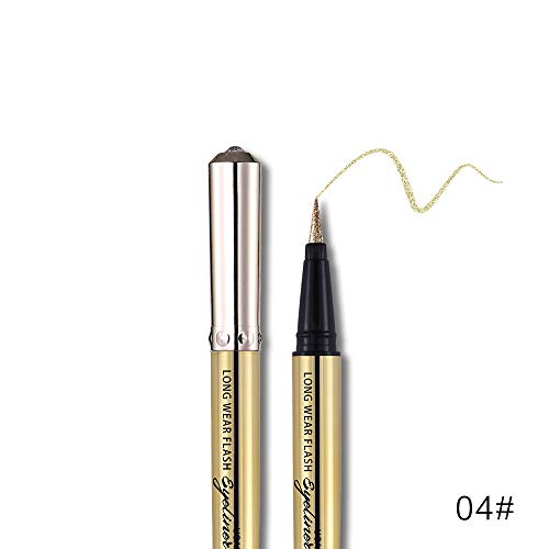 Eyeliner stift, Kajalstift, Kajal Liner Präziser Lidstrich, Augen stift Augenbrauenstift Lidschatten Lipliner Make-up Kajal Eyeliner, Soft Eyeliner Gel ScandalEyes Waterproof Kohl Kajal Eye Liner -
