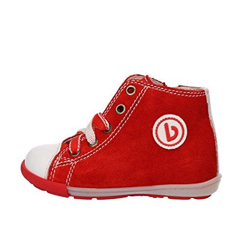 BALDUCCI sneakers bambino rosso bianco camoscio pelle AG927 (19 EU)