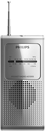 Philips AE1500S/37 radio Portable Analog Silver