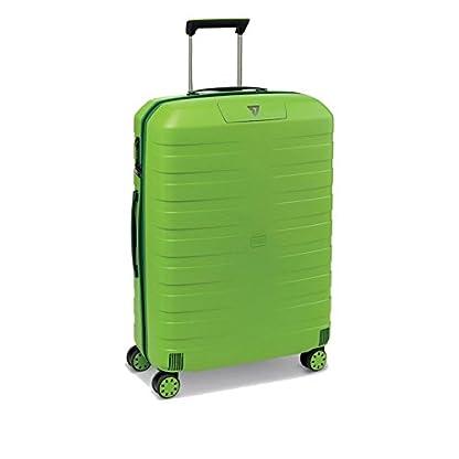 Trolley Grande 78 Cm Spinner 4 Ruote | Roncato Box 2.0 | 5541-Verde