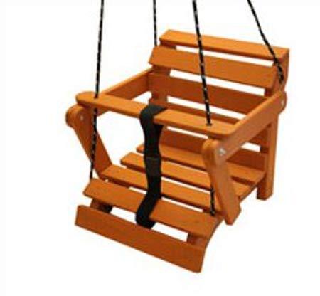 AN-74-K Schaukel Kinderartikel Babyschaukel 5 Möglichkeiten! Kinderschaukel Holzschaukel (Teak ohne Matratze) - Indoor-teak-bank