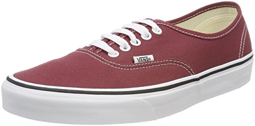 Vans Authentic, Sneaker Unisex-Adulto, Rosso (Apple Butter/True White Q9s), 37 EU