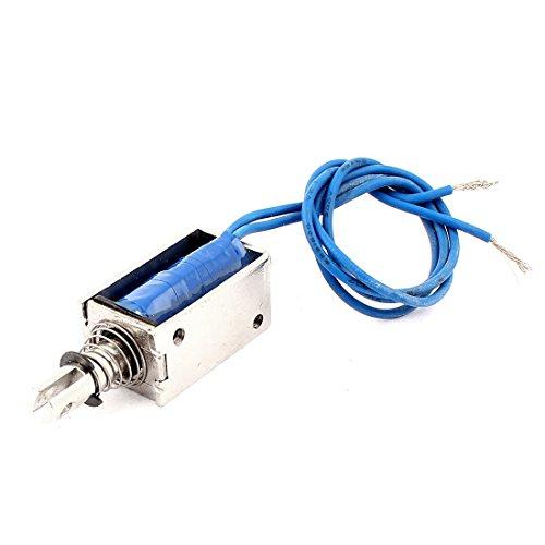 sourcing map Gegentakt-Typ DIY DC Elektromagnet Magnet Hubmagnet 10mm 5N DC 12V 0,7A DE de -
