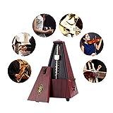 iBasteFR Effet de Guitare Type de Tour Métronome mécanique pour Piano Guitare Violon Guzheng Effets électriques Synthétiser