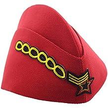 BESTOYARD Sombrero de Marinero de Halloween Sombrero de Danza Rendimiento  azafata Gorra Boinas Cap Militar ( 5b17c521e46