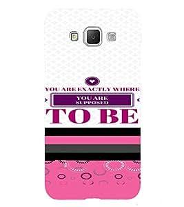 PrintVisa Motivational Quotes Design 3D Hard Polycarbonate Designer Back Case Cover for Samsung Galaxy Grand 3