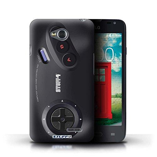 Kobalt® Imprimé Etui / Coque pour LG L65/D280 / Nintendo conception / Série Console (jeux vidéo) Sega Megadrive