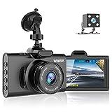WiMiUS Dash Cam Telecamera per Auto 1080P, Grandangolare di 170°, SN Sensore,...