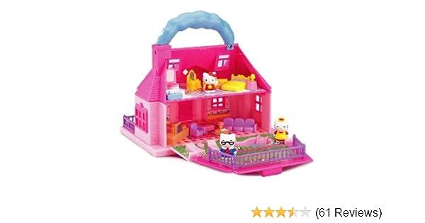 Hello Kitty Mini Dolls House Amazoncouk Toys Games