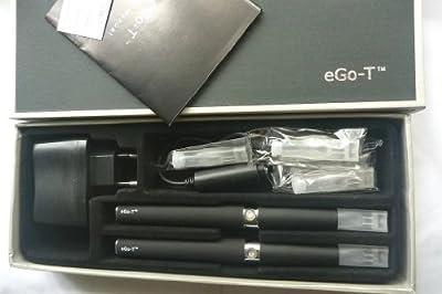 EGO T E-Zigarette 2 x 1100 mAh Akku Starter Set Verdampfer Typ A von Green High-Tech