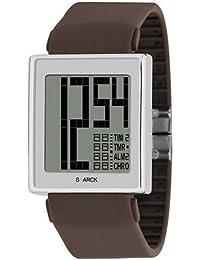 Philippe Starck Philip Starck - Reloj analógico de cuarzo unisex con correa de acero inoxidable