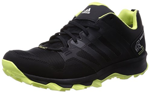 adidas Kanadia 7 Trail GTX Damen Laufschuhe Schwarz (Core Black/Semi Frozen Yellow F15/Chalk White)