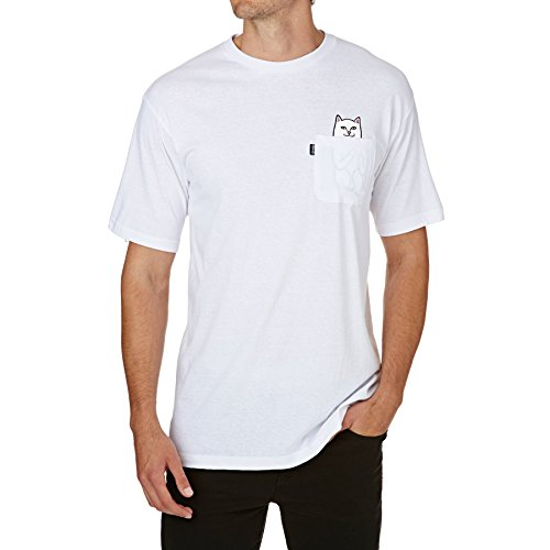 6c21656df905fa Rip N Dip Lord Nermal Pocket Short Sleeve T-Shirt Large White 17