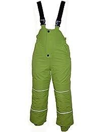 Outburst - Baby Jungen Skihose Schneehose Wasserdicht 10.000 mm Wassersäule, grün