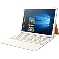 "Huawei Matebook E - Ordenador portátil convertible de 12"" 2K IPS (Intel Core i5, 4 GB RAM, 256 GB SSD, Windows 10 Home), color Dorado - Teclado QWERTY español"
