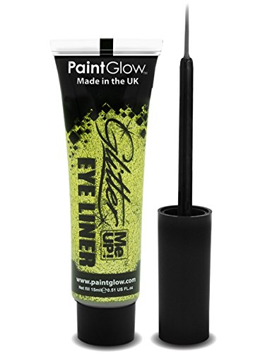 PaintGlow Glitter Eyeliner with Applicator Gold 15ml