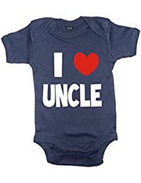 I Love Uncle Body de azul marino Azul azul marino