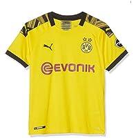 PUMA BVB Home Shirt Replica Jr Evonik with Opel Logo Maillot, Niños