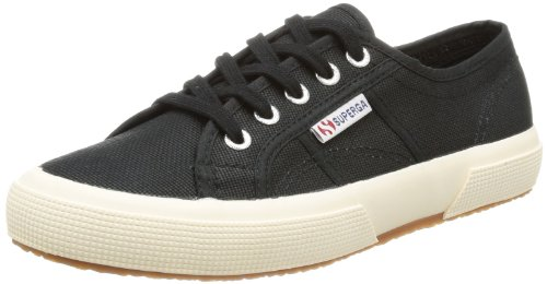 Superga 2750 Cotu Classic, Baskets mixte adulte Noir - noir