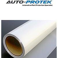 Auto-protek® RAM antigraffio, autoriparante-Pellicola di protezione trasparente per portiere Auto, per davanzale, passaruota, antiurto, con cappuccio