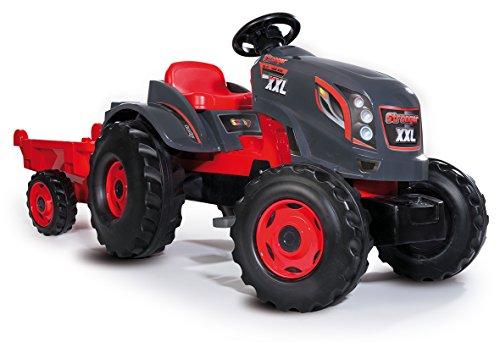 Smoby 7600710200 - Traktor Stronger, Outdoor, Sport, XXL, grau