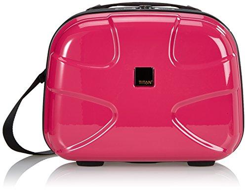 TITAN Beautycase X2 in hot pink Vanity, 39 cm, 22 liters, Rose (Hot Pink)
