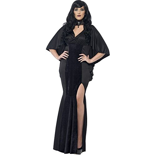 Halloween Plus Size Damen Kostüm dunkle Vampir Gräfin Größe (Halloween Plus Size Kostüme Damen)
