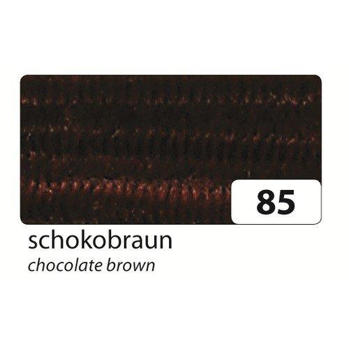 Preisvergleich Produktbild folia 77885 Chenilledraht (Pfeifenputzer), braun