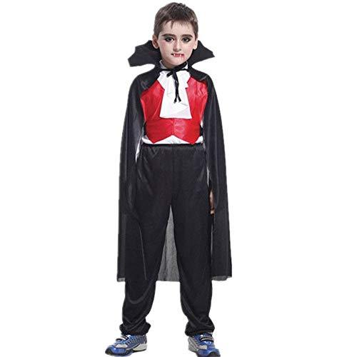 DAKERTA Vampir Kostüm Kinder Jungen - Komplettes