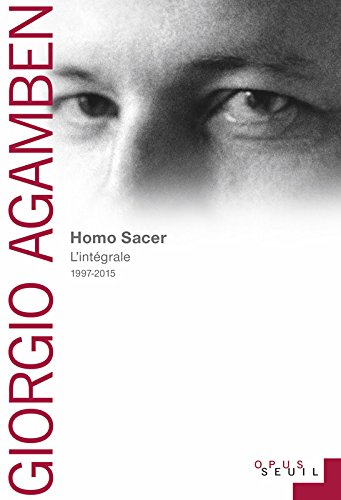 Homo Sacer. Recueil intgral