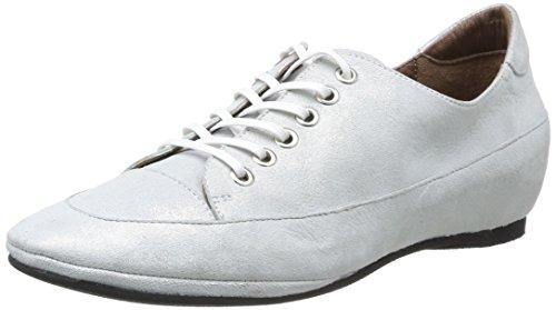 Yves Desfarge Corée, Chaussures de ville femme Argent (Poudré Argent)