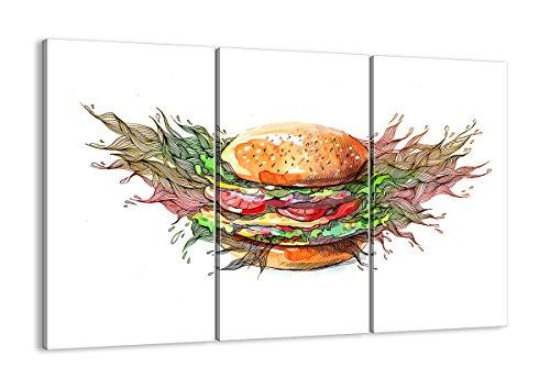 Bild auf Leinwand - Leinwandbilder - drei Teile - Breite: 165cm, Höhe: 110cm - Bildnummer 2981 - dreiteilig - mehrteilig - zum Aufhängen bereit - Bilder - Kunstdruck - CE165x110-2981