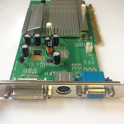INNO3D FX-5200 256MB AGP NVIDIA GRAPHICS CARD with DVI - VGA & TV-OUT (BULK/OEM)