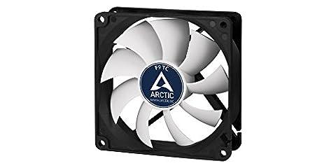 ARCTIC F9 TC - 92 mm Standard Low Noise Temperature Controlled Case Fan