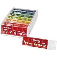 Anabox Tablettenbox, 7 Tage, regenbogenfarben preisvergleich bei billige-tabletten.eu