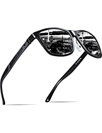 d814915fd112 ATTCL Men s Retro Driving Polarized Sunglasses Man Al-Mg Metal Frame Ultra  Light