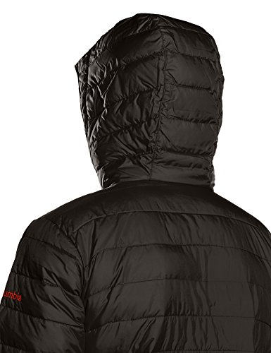 Columbia Herren Powder Lite Hooded Jacket Jacke MU-Black