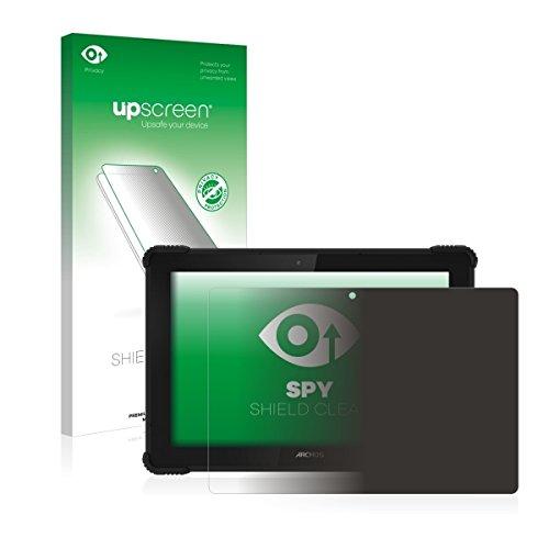 upscreen Spy Shield Clear Blickschutzfolie / Privacy für Archos 101 Saphir (Sichtschutz ab 30°, Kratzschutz, selbstklebend)