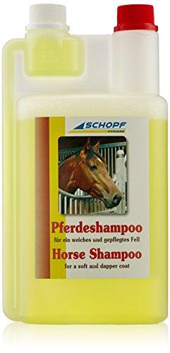 SCHOPF 301048 Pferde, Shampoo mit Fellpflege, 1 l