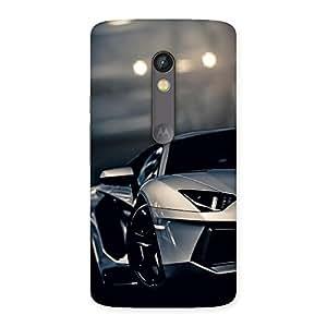 Voila Super Vint Car Back Case Cover for Moto X Play