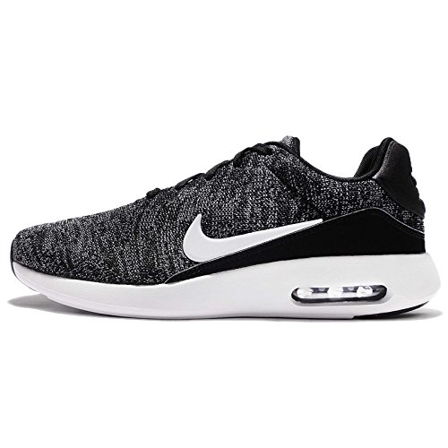 Nike Air Max Modern Flyknit, Sneakers Basses Homme BLACK/WHITE-COOL GREY-UNIV
