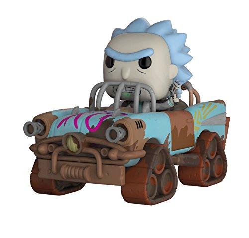 funko pop rick and morty FunKo 28456 POP Rides Spielzeug, Mehrfarbig