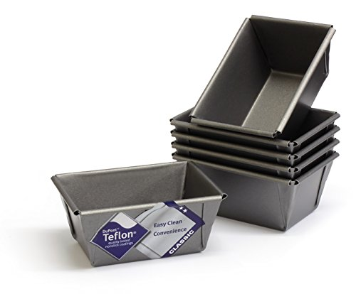 mini-loaf-tins-set-of-6-with-teflon-rtm-non-stick-british-made-by-lets-cook