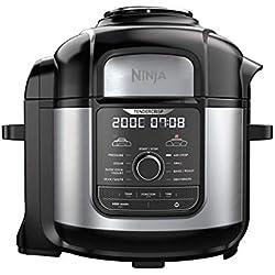 Ninja Foodi MAX [OP500EU] Autocuiseur pression 9-en-1, 7,5 l, 1 760 W, Noir